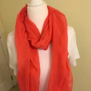 Accessories - Coral/orange scarf